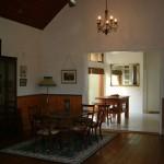 Inside Newstead Chapel